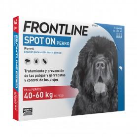 Pipetas Frontline Spot On Perros +40 Kg, las mejores Pipetas para perros grandes