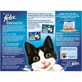 Purina Felix Fantastic Gelatinas Selección de Carnes
