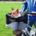 Transporte frontal bicicleta