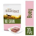 True Instinct No Grain Paté Buey con Verduras