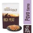 True Instinct High Meat fillets con Pavo tierno y Verduras