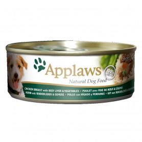 Applaws Dog Pollo con hígado y verduras