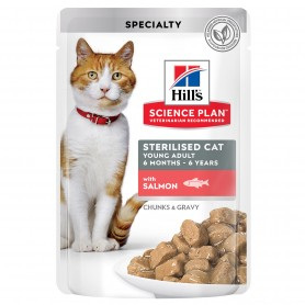 Hill's Science Plan Feline Sterilized Cat Salmón (Bolsita)