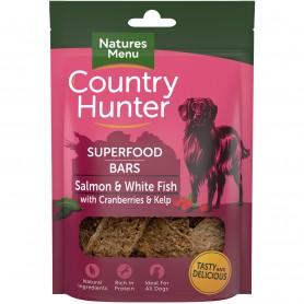 NM Country Hunter Superfood Bars Salmón Y Pescado Blanco Con...