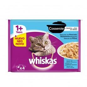 Whiskas Casserole selección de pescado