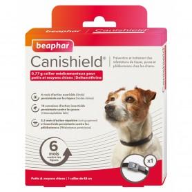 Canishield Collar antiparasitario Triple Protección para Perros 48 cm