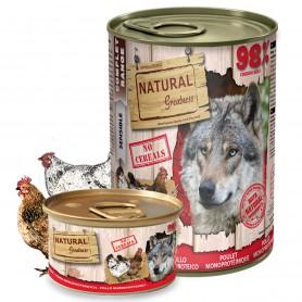 Natural Greatness Receta Pollo perro (lata)