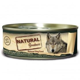 Natural Greatness Pechuga de Pollo con higado y verduras perro (lata)