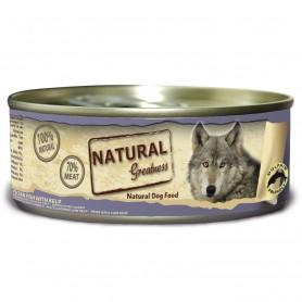 Natural Greatness Pescado de Mar con Kelp perro (lata)