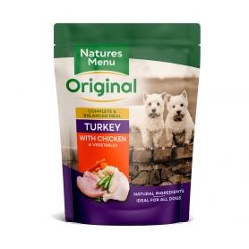 Natures Menu Bolsas Perro Pavo y pollo