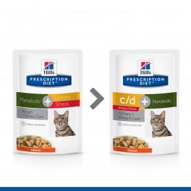 Hill's Prescription Diet Feline c/d Urinary Stress + Metabolic (bolsita)