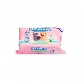 Toallitas Higiénicas Musgo Blanco PetShine