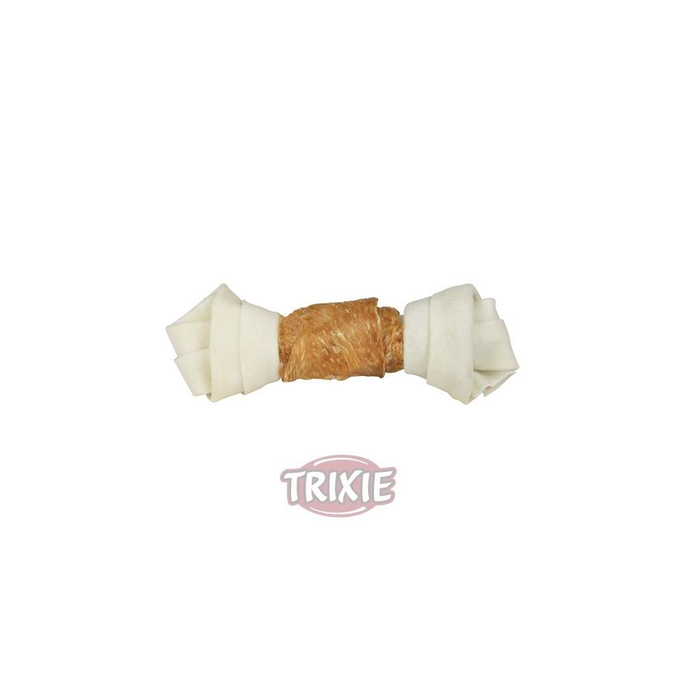 Hueso anudado de pollo (Dentafun), Snacks para perros, Hueso masticable