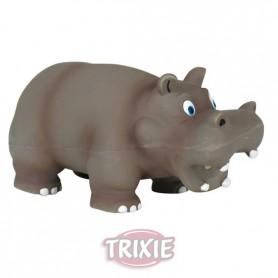Hippo, con sonido original, látex, 17 cm