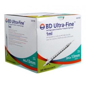 Jeringuillas para insulina BD Ultra Fine