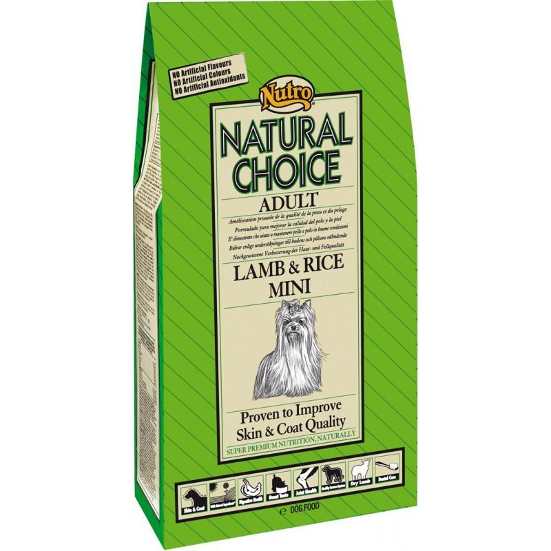 Nutro Natural Choice Adult Lamb & Rice Mini