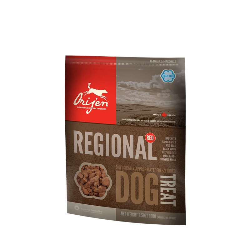 Orijen Treats Regional Red (Snacks Naturales)