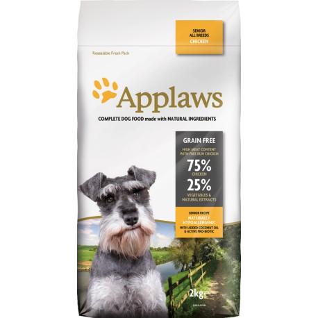 Applaws Senior Chicken, pienso para perros naturales