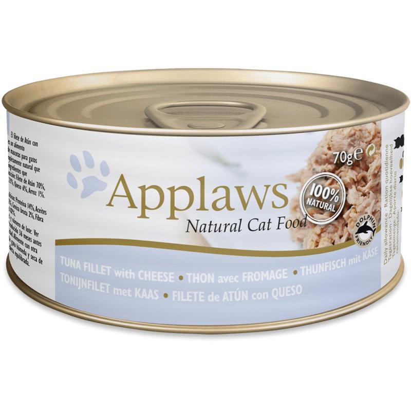 comida húmeda Applaws Cat lata atún y queso para gatos