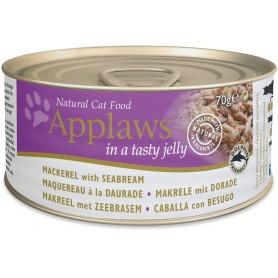 Applaws Cat Jelly lata caballa y besugo