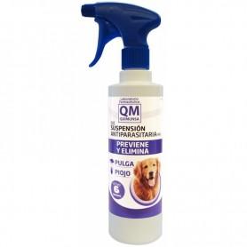 QM Suspensión antiparasitaria contra pulgas y piojos en perros