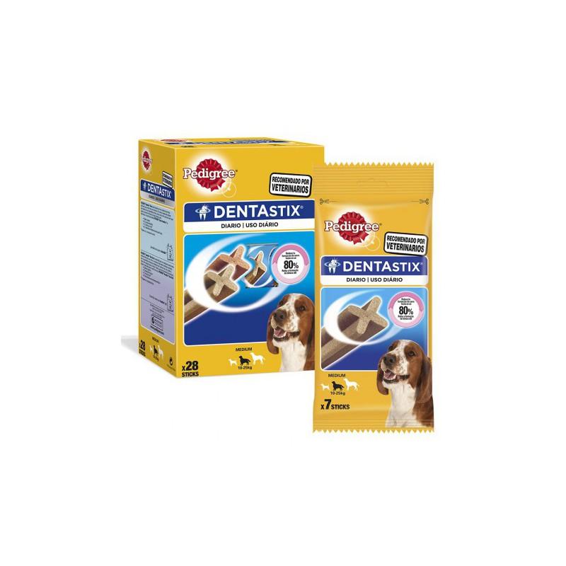 Pedigree Dentastix perros medianos, Snacks para perros, Higiene bucal