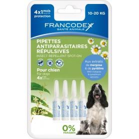 Francodex Pipetas Repelentes Perro