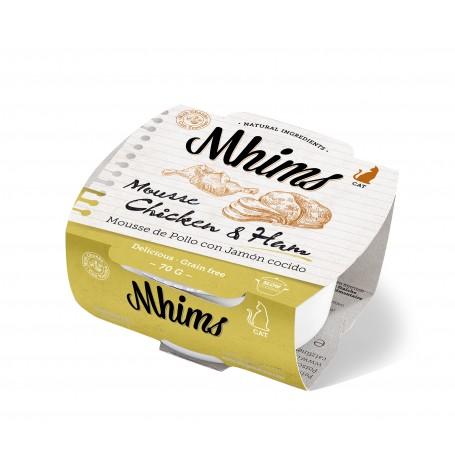 MHIMS Cat Mousse pollo con jamón cocido