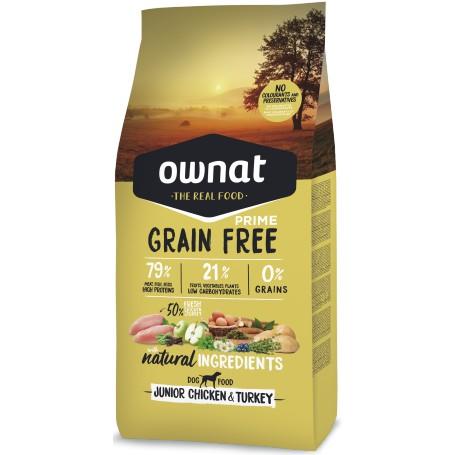 Ownat Grain Free Junior, pienso para perros naturales