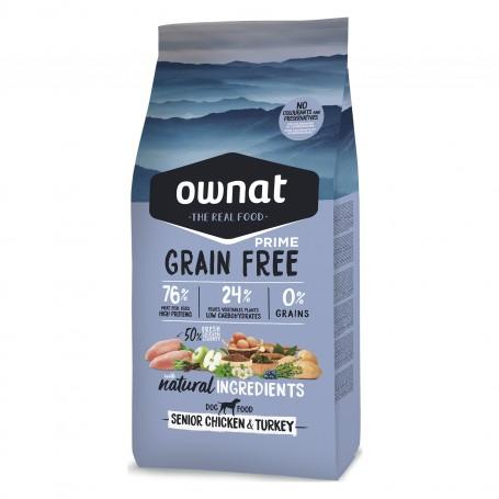 Ownat Grain Free Senior Pollo y Pavo