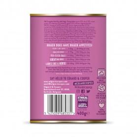 Edgard & Cooper, latas sin cereales con venado y pato para perros...