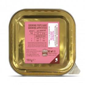 Edgard & Cooper, vaschette sin cereali con anatra e pollo Per cuccioli
