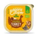Edgard & Cooper, pack 17 tarrinas sin gluten con pollo y pavo ecológico para perros adultos