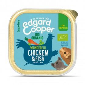 Edgard & Cooper, vaschette sin glutin con pollo ecológico e Pesce...