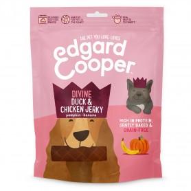 Edgard & Cooper, barritas sin cereales con pato, pollo, brécol, guisantes y zanahoria