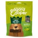 Edgard & Cooper, jerkeys sin cereales con cordero, vacuno, pera y manzana