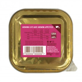 Edgard & Cooper, tarrinas sin cereales con vacuno y cordero para...