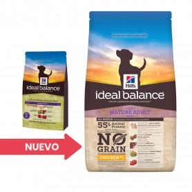 Hill's Ideal Balance Mature Adult No Grain con Pollo y Arroz Integral