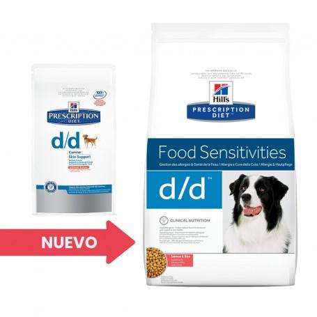 Hill's Prescription Diet Canine d/d salmón y arroz
