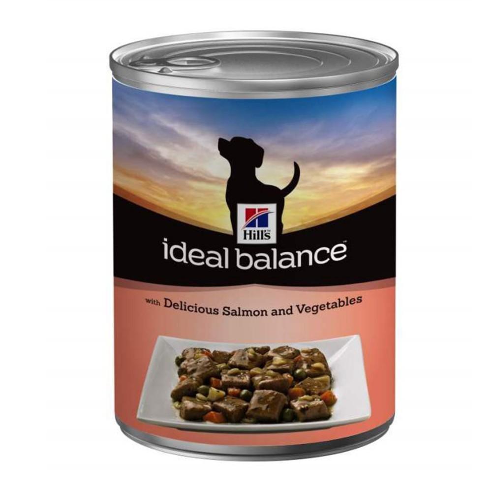 comida húmeda Hill's Ideal Balance salmón y verduras (Lata)