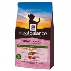 Hill's Ideal Balance Adult Small Breed com Frango e Arroz
