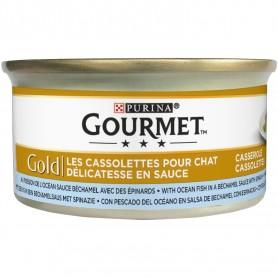 Purina Gourmet Gold Guiso a la Cazuela con Pescado del Océano y...
